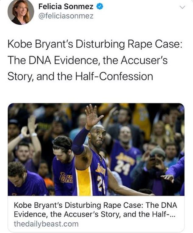 Terrible person': Journalists revolt over reporter's Kobe suspension - NZ Herald