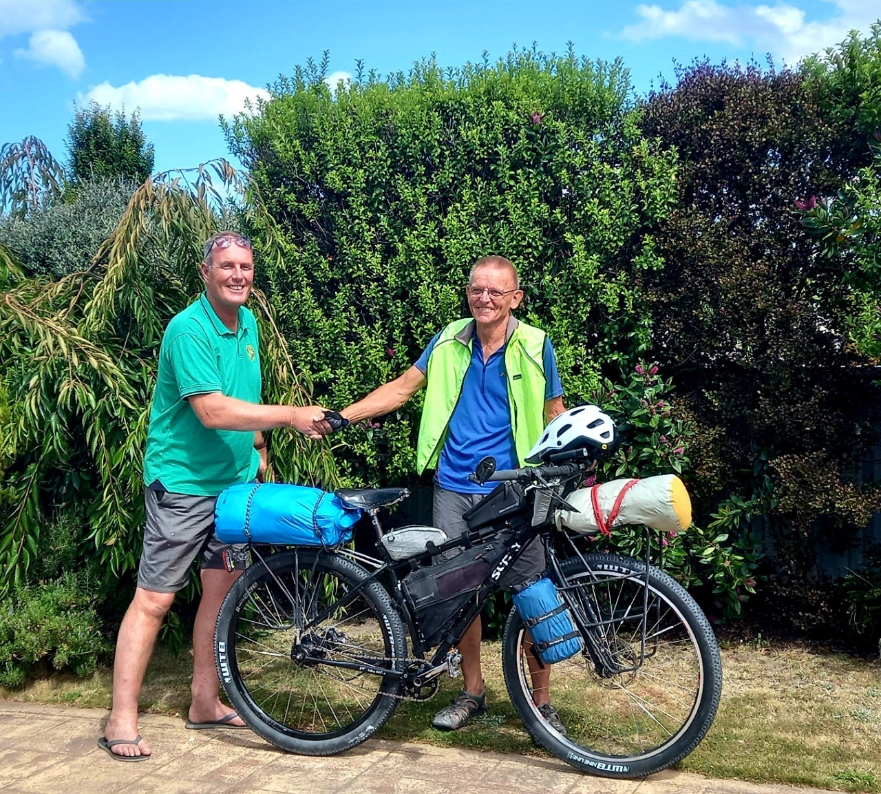 nzherald.co.nz - Greenmeadows Rotary member Alan White cycles for charity