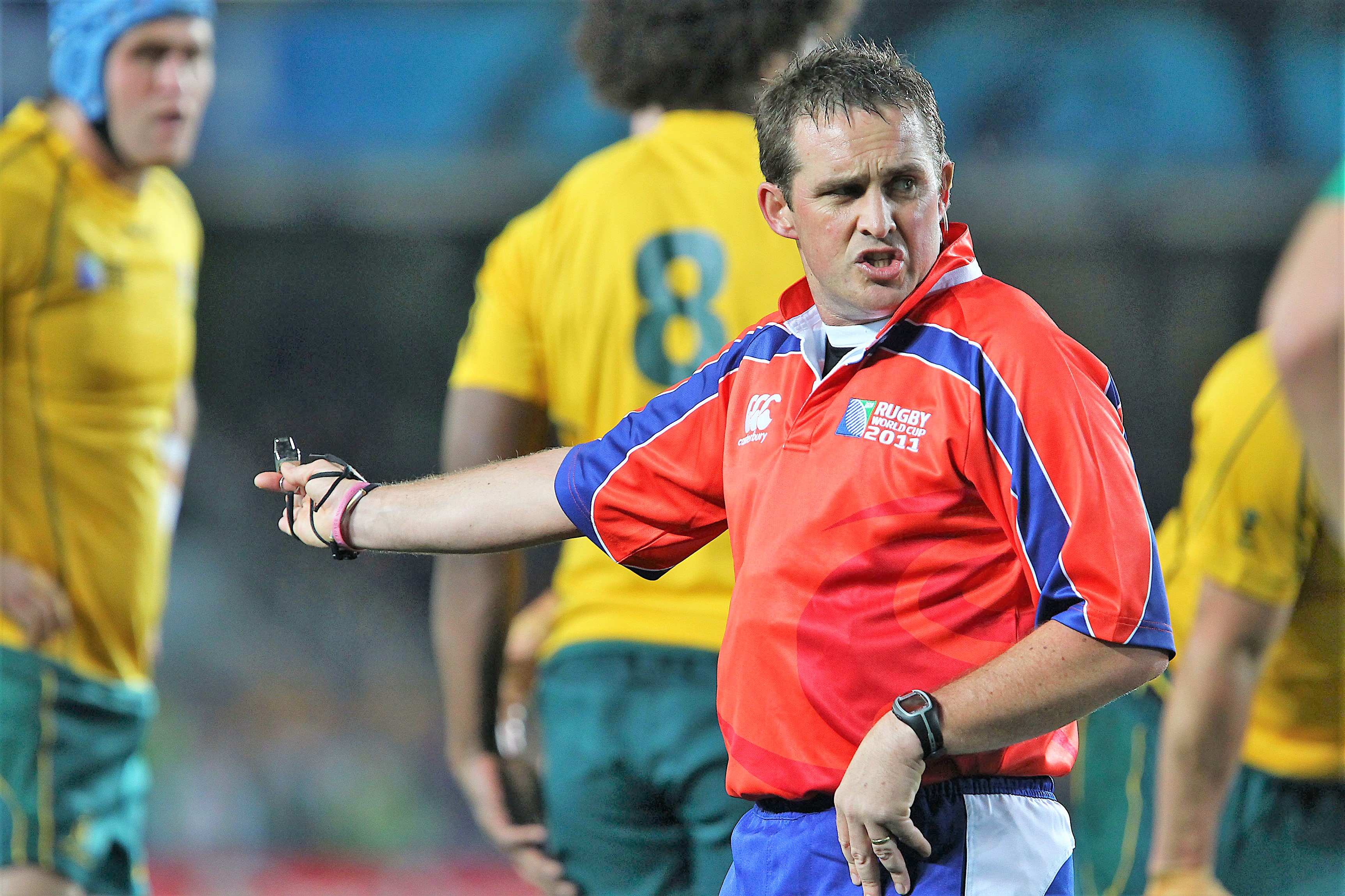 Bryce Lawrence to mentor New Zealand's top rugby referees - NZ Herald