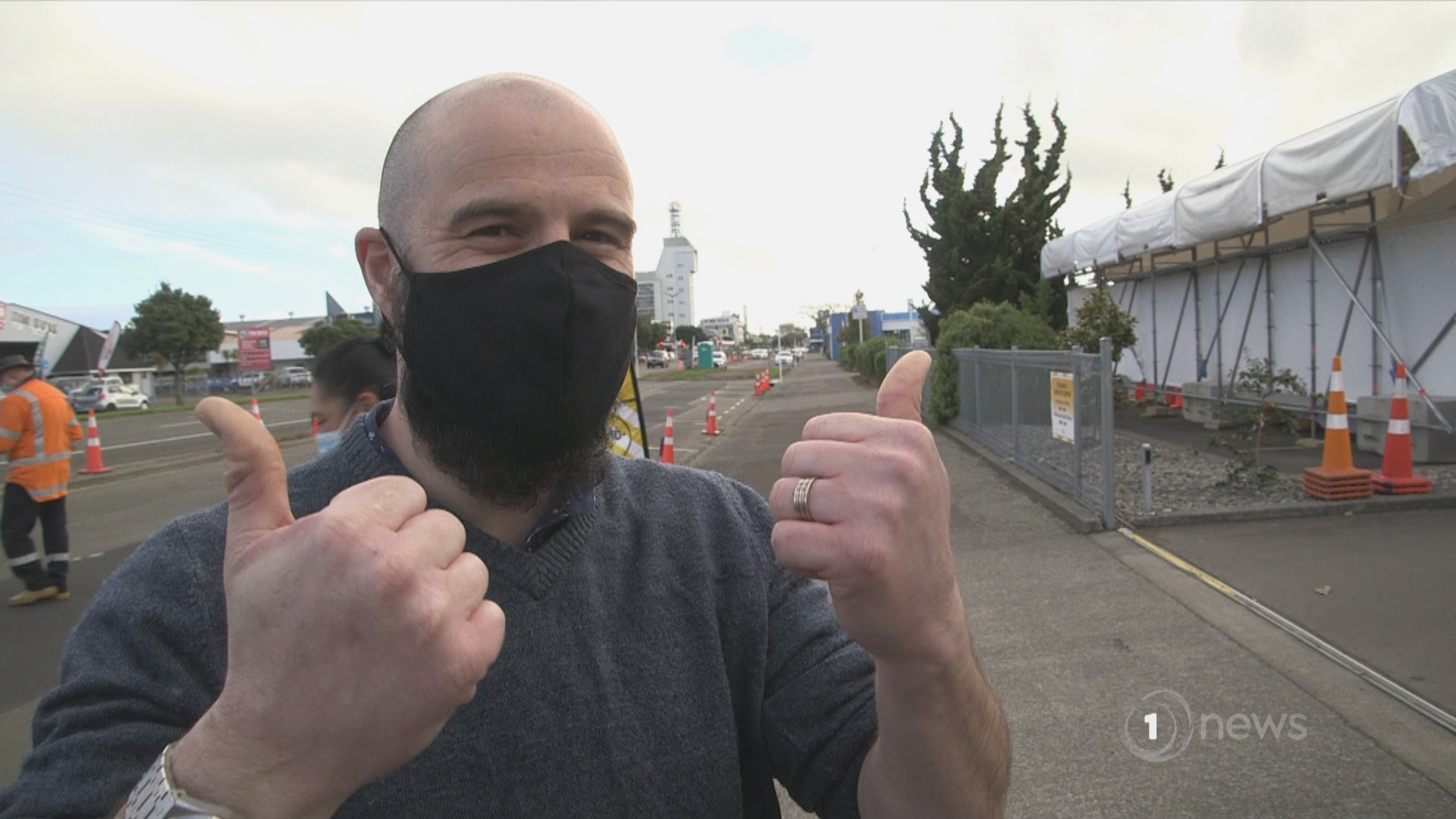 Good Sorts: Palmerston North man invents mask clip to stop glasses fogging up