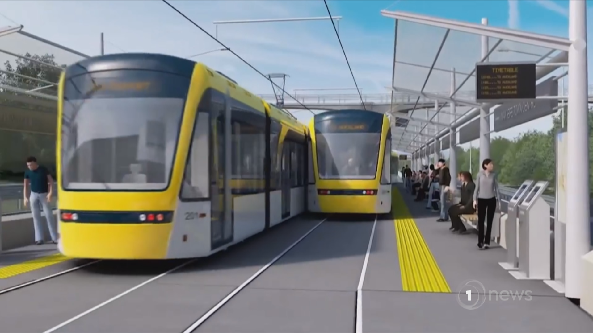 Auckland light rail to cost at least $9b, proposals find