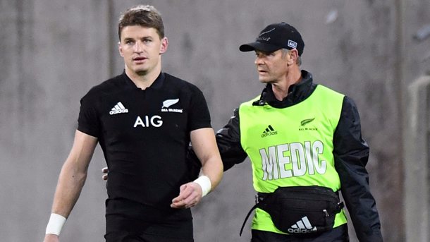 Beauden Barrett and Fifita out of third All Blacks Test with France - Squire, Harris in doubt
